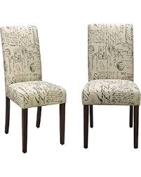 Upholstered Parsons Dining Room Chairs Fabulous Astonishing Upholstered Parsons Dining Room Chairs 15 For