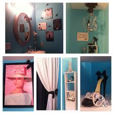 audrey hepburn tiffany blue bathroom decor omg need this bathroom