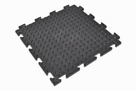 interlocking vinyl floor tiles checker plate surface workplace