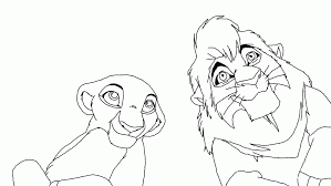 lion king coloring pages kovu periodic tables