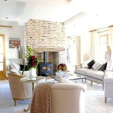home interior design english style english style home interior design brick fireplace wall and living