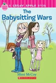 the babysitting wars book by mimi mccoy