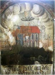 medieval wall painting transylvania church