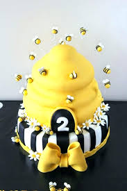 82 Bumble Bee Decorations For Cake Honey Bee Birthday Cake
