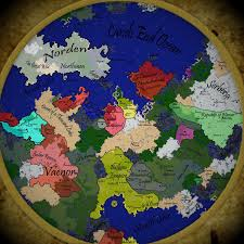A World Map by A World Map