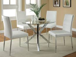 Modern Leather Dining Room Chairs Great Best 25 White Leather Dining Chairs Ideas On Pinterest For