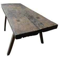 wood block dining table 19th century solid wood french butcher s block rustic dining table