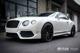 bentley gtc custom bentley continental gt with 22in vossen cv4 wheels exclusively