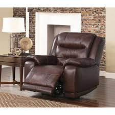 chandler top grain leather power recliner with usb port sam u0027s club
