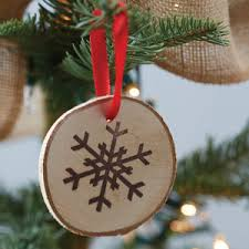 preview wooden round snowflake hanging decorations jpg