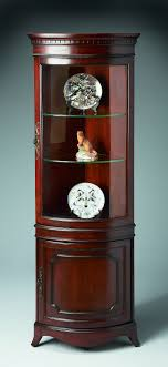 antique display cabinets with glass doors sophisticated corner cabinet for your furniture ideas appealing
