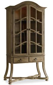 Dining Room Display Cabinet Hooker Furniture Corsica Display Cabinet With Touch Lighting