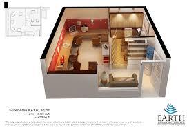 450 sq ft apartment design 450 square feet house design house design