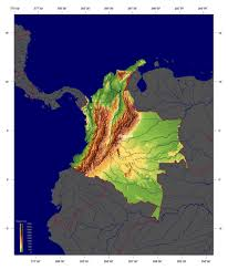 Geographical Map Of South America Columbia Physical Map Afputra Com