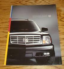 2006 cadillac escalade original 2006 cadillac escalade deluxe sales brochure 06 ebay