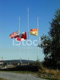 Flying The Flag At Half Staff Flags At Half Mast Stock Photos Freeimages Com