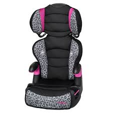 pink kid car big kid high back booster car seat