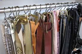 How To Decorate Stainless Steel Stainless Steel Holder And Hooks For Organizing Belt And Scarves Ideas