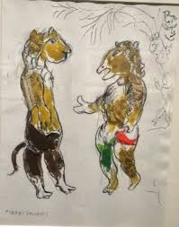 costumes for the magic flute at the met 1966 67 by chagall