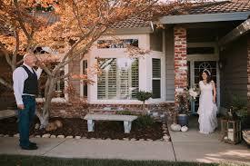 San Diego Backyard Wedding Intimate Backyard Wedding In Roseville Stephanie U0026 Kord