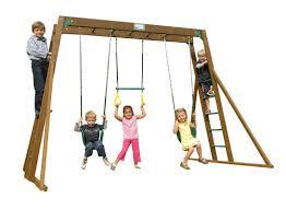 creative playthings classic top ladder swing set u0026 reviews wayfair