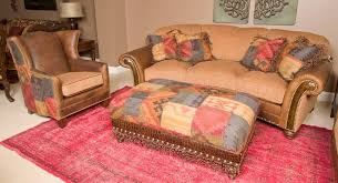 Paprika Sofa King Hickory