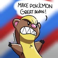 make pokemon great again yungoos trump know your meme