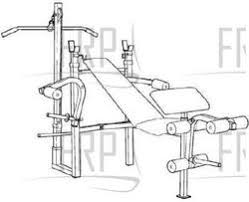 Weider Pro Bench Weider Pro 137 Weccbe03801 Fitness And Exercise Equipment