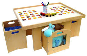 activity table with storage child activity table with storage a play table with storage