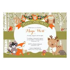 woodland baby shower invitations woodland themed baby shower invitations marialonghi