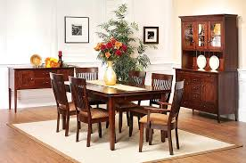 The Amish Home Furniture GalleryNewport Shaker Dining Room Furniture - Shaker dining room chairs