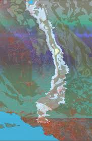 Los Angeles Aqueduct Map by A More Absorbent Landscape U2013 Boom California