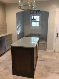 decorating cozy conestoga tile floor with small kitchen island