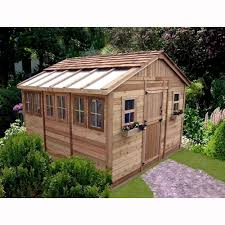outdoor living today sunshed 12 ft x 12 ft western red cedar