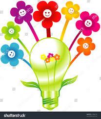 Smiley Flowers - vector smiley flower power stock vector 13684714 shutterstock