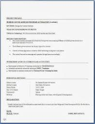 Best Resume Format For Freshers by Freshers Resume Format Word Document Download Resume In Ms Word