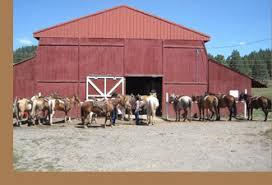 Red Barn Boarding Diamond Hitch Stables Pagosa Springs Colorado Horseback Riding