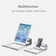 ergonomie bureau ordinateur ordinateur portable en aluminium support de bureau dock titulaire