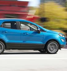 2018 ford ecosport compact suv features ford com