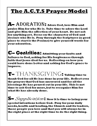 prayers of thanksgiving for healing immaculate youth ministry resources