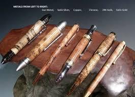 rustic custom wood pens wood pens