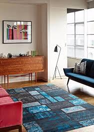 1007 turquoise 7 u002710 10 u00272 area rug modern carpet large new area