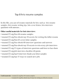 Job Interview Resume Format Pdf by Top8hrisresumesamples 150614031302 Lva1 App6891 Thumbnail 4 Jpg Cb U003d1434251630
