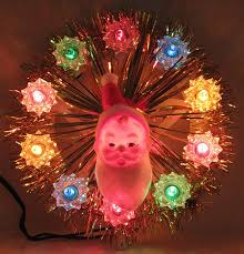 vintage plastic santa tree topper 1960s tree toppers 1960s and