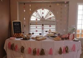 pink gold baby shower decoración de baby shower en rosa y dorado baby shower perfecto