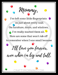 printable handprint s day poem crafty morning