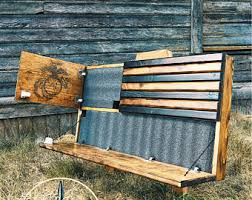 Gun Safe Bench Gun Storage Etsy
