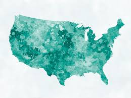 Watercolor Florida Map by The Cost Of Starting A Nonprofit In Every State Nonprofit Hub