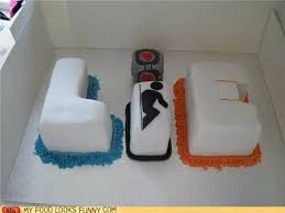 The Cake Is A Lie Meme - more portal cakes beautiful and yummy pinterest portal cake