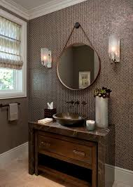How To Hang Bathroom Mirror Hanging A Bathroom Mirror Home Design Ideas And Pictures
